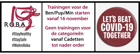 geen trainingen
